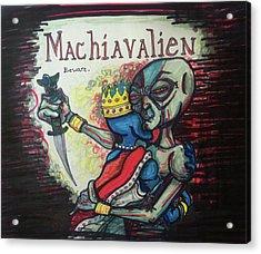 Machiavalien Acrylic Print