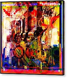 Machine Age-1 Acrylic Print by Gary Grayson