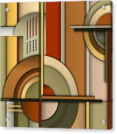 Machine Age Acrylic Print by Tara Hutton