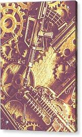 Machine Guns Acrylic Print by Jorgo Photography - Wall Art Gallery