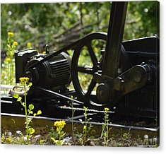 Machine In Motion Acrylic Print by Belinda Stucki