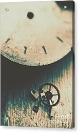 Machine Time Acrylic Print by Jorgo Photography - Wall Art Gallery