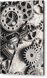 Machines Of Military Precision  Acrylic Print