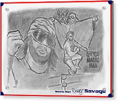 Macho Man Randy Savage Acrylic Print