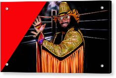 Macho Man Randy Savage Collection Acrylic Print