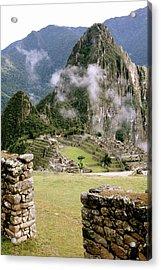 Machu Picchu In The Morning Light Acrylic Print