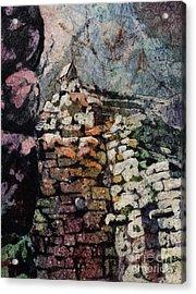 Machu Picchu Ruins- Peru Acrylic Print