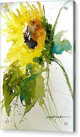 Maci's Sunflower Acrylic Print