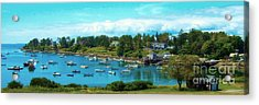 Mackerel Cove On Bailey Island Acrylic Print