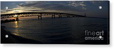 Mackinac Bridge Acrylic Print by Tara Lynn