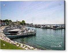 Mackinac Island Marina Acrylic Print