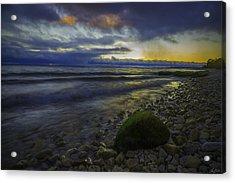 Acrylic Print featuring the photograph Mackinaw Island Sunset by Owen Weber
