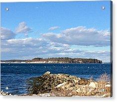 Mackworth Island Falmouth Maine Acrylic Print