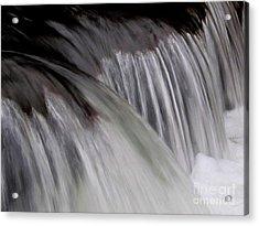 Macro Falls Acrylic Print