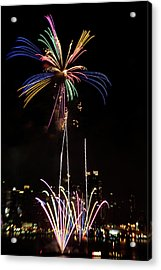 Macy's Fireworks I Acrylic Print by David Hahn