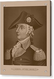 Mad Anthony Wayne Acrylic Print by War Is Hell Store