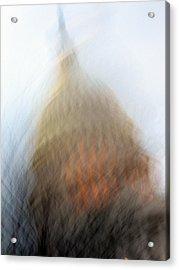 Mad Capitol Acrylic Print by Sean Owens