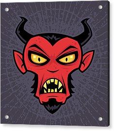 Mad Devil Acrylic Print by John Schwegel