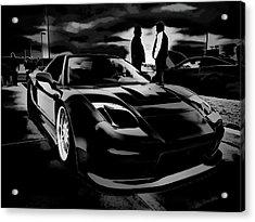 Mad Men - Mad Cars Acrylic Print by Douglas Pittman