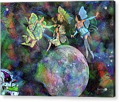 Mad Wicked Fun Acrylic Print by Betsy Knapp