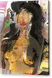 Madam Bouran Acrylic Print by Noredin Morgan