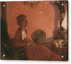 Madame Camus Acrylic Print by Edgar Degas