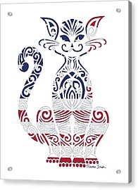 Made In The Usa Cat Acrylic Print