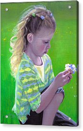 Madeline Acrylic Print by Laurel Ellis