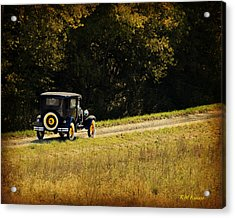 Madison County Back Roads-ford Acrylic Print