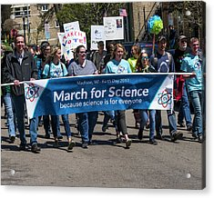 Madison Science March - 1 Acrylic Print