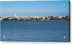 Madison Skyline From Picnic Point Acrylic Print