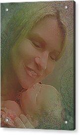 Madonna And Child 1 Acrylic Print