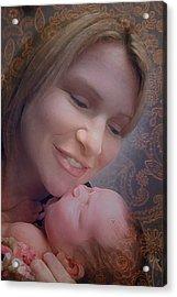 Madonna And Child 2 Acrylic Print