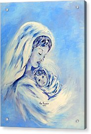 Madonna And Child By May Villeneuve Acrylic Print