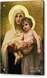 Madonna And Child Acrylic Print by Colleen Kammerer