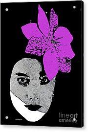 Madonna Girl Acrylic Print