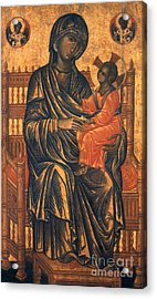 Madonna Icon, 13th Century Acrylic Print by Granger