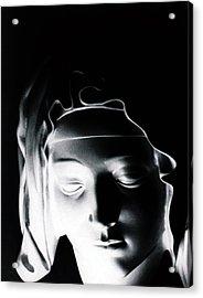 Madonna Acrylic Print by Joseph Frank Baraba