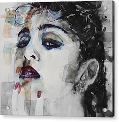 Madonna  Like A Prayer Acrylic Print