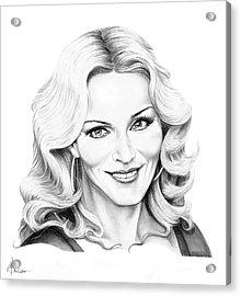 Madonna Acrylic Print by Murphy Elliott