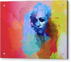 Madonna Acrylic Print by Naxart Studio