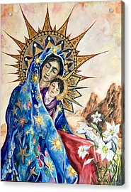 Madonna Of The Unescorted  Acrylic Print