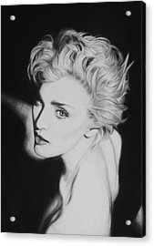 Madonna Acrylic Print by Steve Hunter