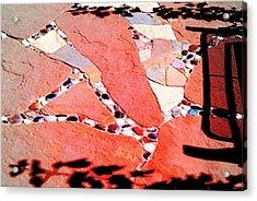 Madrid Mosaic.. Acrylic Print by Al  Swasey