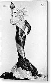 Mae West (1892-1980) Acrylic Print by Granger