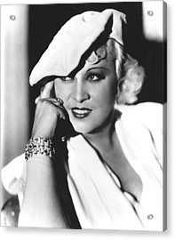 Mae West, Paramount Pictures, Ca. Mid Acrylic Print