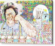 Maestro- Alfredo Arreguin Acrylic Print