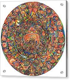 Maeyea Acrylic Print by Jonathan 'DiNo' DiNapoli