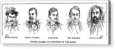 Mafia Leaders, C1890 Acrylic Print by Granger