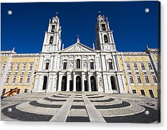 Mafra Palace Acrylic Print by Andre Goncalves